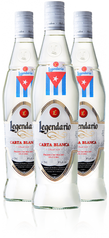 Legendario Ron Carta Blanca 40% 0.7l