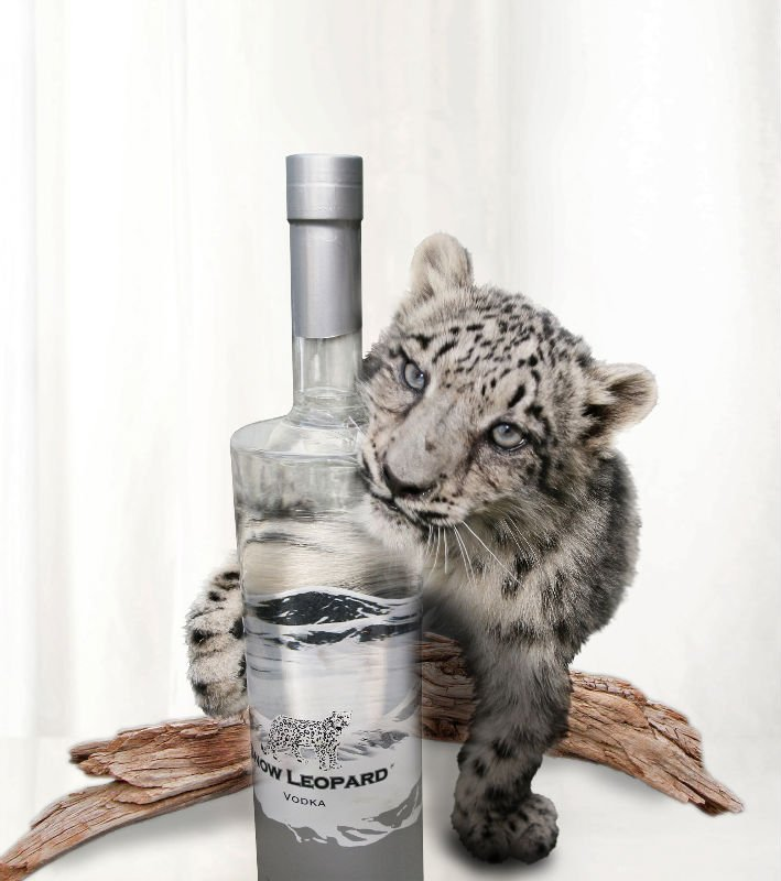 Snow Leopard Vodka 40% 1,0l
