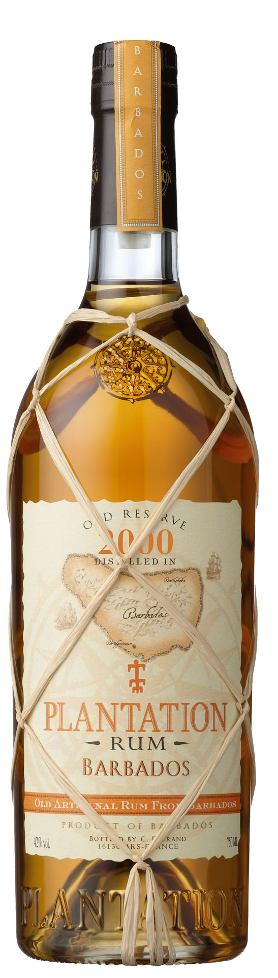 Plantation Rum Barbados 2000 Old Reserve 0,7l 42,0%