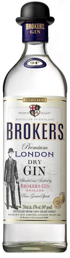 Broker's London Dry Gin 40% 0,70l