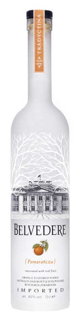 Belvedere Orange 0,7l 40%